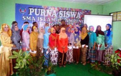 PURNA SISWA SMA ISLAM 1 GAMPING T.A 2016/2017