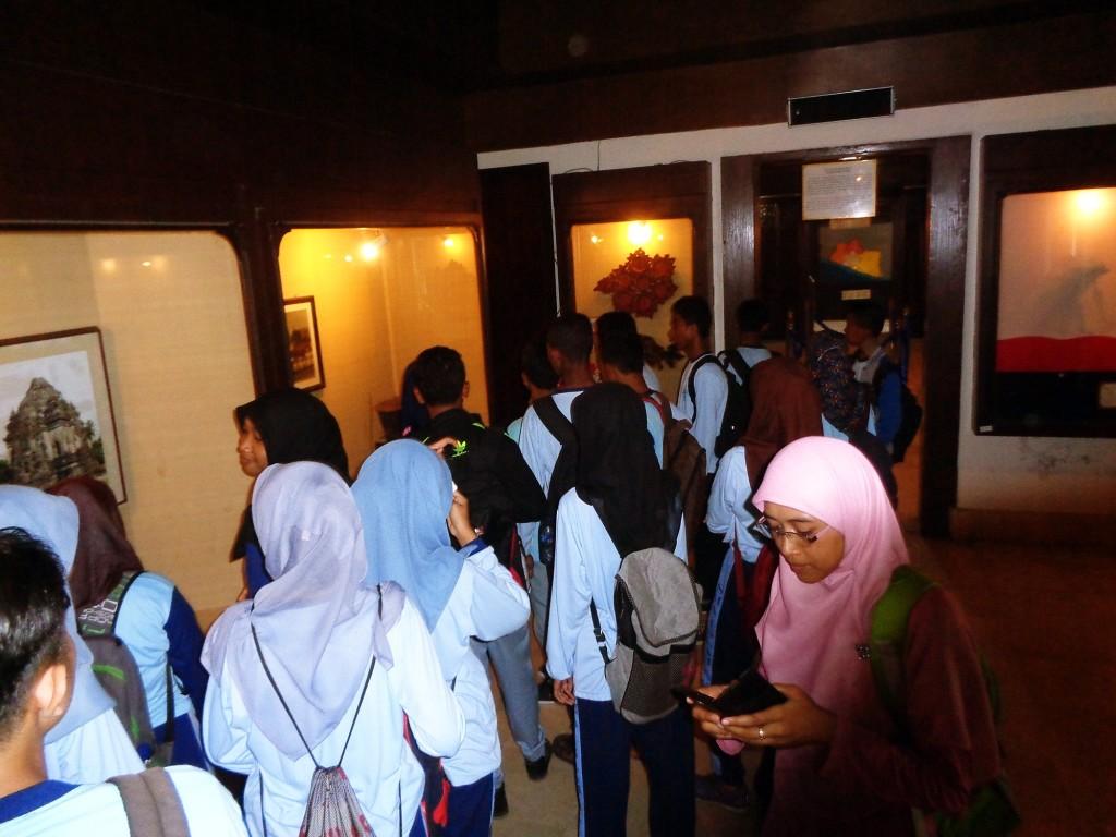 Suasana di dalam Ruang Sonobudoyo